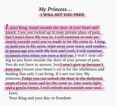 love letters of god to his princess quotes pinterest