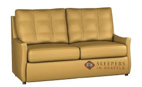 sleeper sofa leather customize and personalize by palliser leather sofa by