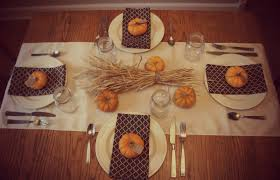 frugal foodie setting a gorgeous thanksgiving table on the cheap