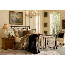 bed u0026 bedding black wooden cal king bed frame with white mattress