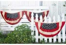 american flag bunting patriotic decorations décor steals