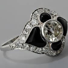onyx engagement rings black onyx diamond rings diamond engagement ring black onyx wolly