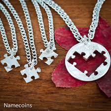 puzzle love necklace images 4 puzzle pieces best friends heart necklaces friendships or jpg