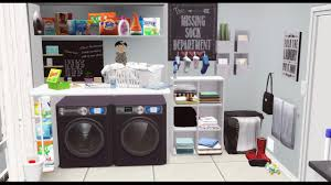 the anthony u0027s new home pt 1 laundry room sims 3 speed