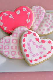 heart shaped cookies sugar cookie hearts