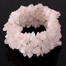 pink quartz bracelet images Rose quartz bracelet ebay JPG