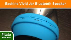 eluma lights speaker system eachine vivid jar bluetooth wireless speaker with led lights youtube