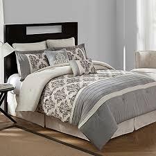 bridge street warwick textured cotton linen 8 piece comforter set