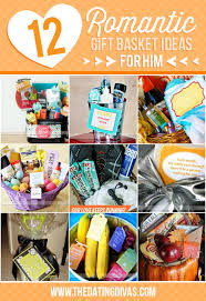 Birthday Gift Baskets For Men 50 Romantic Gift Ideas For Him Romantic Gift And Basket Ideas