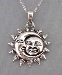 silver moon necklace pendants images 9 best celestial sun moon necklaces images fashion jpg