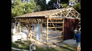 diy steel shed 30 x 50 youtube