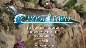 custom rock waterfalls from the top inground pool company nj