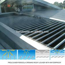 Pergola With Movable Louvers by Aerofoil Aluminum Sun Louvers Aerofoil Aluminum Sun Louvers