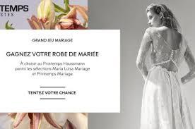 robe de mariã e printemps luisa mariage printemps haussmann boutiques