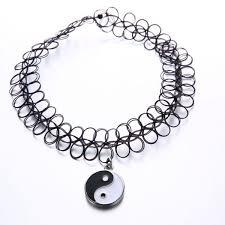 buy vtop vintage black magic tattoo choker necklace bracelet