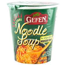 gefen kosher gefen instant noodle soup vegetable flavor 2 3 oz