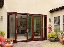 Wooden Bifold Patio Doors Awesome Jeld Wen Folding Patio Doors With Jeld Wen Aurora Mahogany