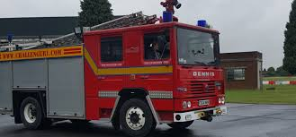 fire trucks monster truck stunt oxfordshire dennis rs v8 fire engine driving experience