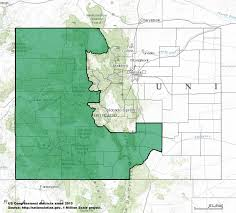 San Luis Valley Colorado Map by Colorado U0027s 3rd Congressional District Wikipedia