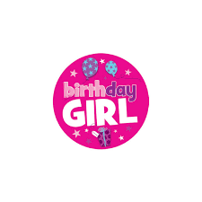 birthday girl birthday girl birthday badge