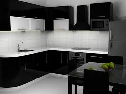 black bottom and white top kitchen cabinets black and white kitchen cabinet images modern design from