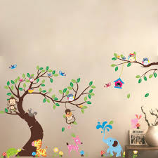Nursery Wall Decals Animals by Compare Prices On Nursery Decor Jungle Online Shopping Buy Low