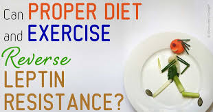 diet and exercise reverse leptin resistance
