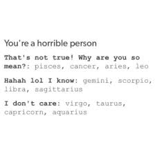 Cancer Horoscope Memes - 12 tumblr horoscope posts that reveal what everyone secretly hates
