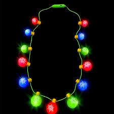 light up ornament necklace glowsource