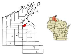Namekagon River Map Ashland Wisconsin Wikipedia