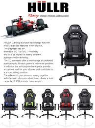 amazon com hullr gaming racing computer office chair executive