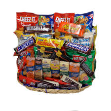 snack baskets jumbo snack attack gift baskets by g h
