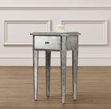 Mirrored Side Table Ava Mirrored Side Table