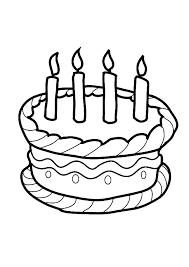 beautiful birthday cake colouring beautiful birthday cake