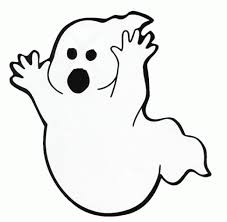 ghost free printable halloween coloring pages hallowen coloring