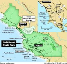 High Cliff State Park Map Life Slows Down At Salt Point State Park Sfgate