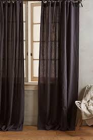 Tie Top Curtains Linen Tie Top Curtain Anthropologie