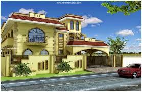 3D Front Elevation pakistani house front elevation pictures