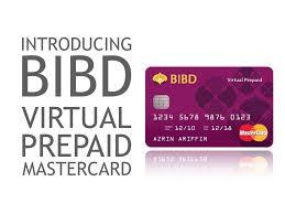 prepaid mastercard introducing bibd prepaid mastercard