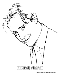 hollywood coloring page hollywood dicaprio kutcher a list