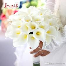 calla bouquets white calla wedding bouquet bridal bridesmaid flower wedding