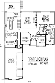 2500 Sq Ft Ranch Floor Plans Stone Cottage Ranch House Floor Plans With 2 Car Garage 2 Bedroom