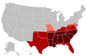 Dialect Map Usa Do Southerners Speak Slowly Dialect Blog