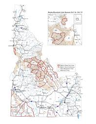 Hunt Maps Game Management Units Idaho Fish And Wildlife Information System