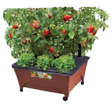 city pickers 24 5 in x 20 5 in patio raised garden bed grow box