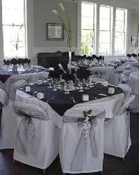 one stop wedding black and white wedding centerpieces