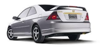2005 Honda Civic Coupe Interior Genuine Honda Civic Accessories Exterior Accessories 2001 2005
