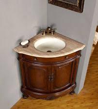 Corner Sink Vanity EBay - Corner sink bathroom cabinet