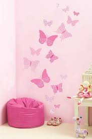 pink butterfly wall decals bedroom decor rooms for