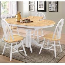 extendable round dining table rhode island solid wood extendable round 6 seater dining table in